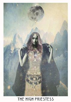 Starchild Tarot / the high priestess