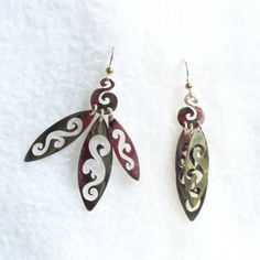 """""""French Lace"""", Sterling Silver Earring by JewelryLindsayMudge, $120.00"""