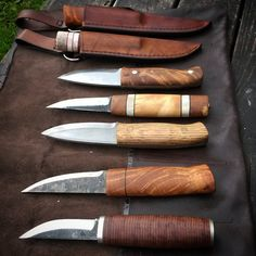 Några knivar jag gjort.