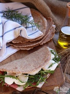 Come fare la piadina integrale all'olio d'oliva