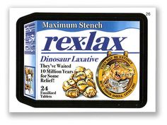 Wacky Packages Topps 5th Series 2007: Rex Lax - #26