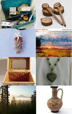 Nature and Creativity! by roxy on Etsy--Pinned with TreasuryPin.com