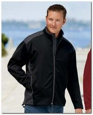 As Low As $40.49 > Port Authority J794 Two-Tone Soft Shell Jacket - Available Colors:5, Size Range:XS - 4XL