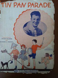 1927 Tin Pan Parade  on Etsy, $7.00