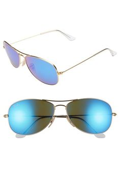 Women's Ray-Ban 'New Classic' 59mm Aviator Sunglasses