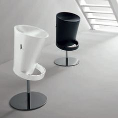 ZenEasy This amazing, unique stool is perfect if you love strange and original design. It is available in different colours, and we love the black and white combination, which could suit greatly any ultramodern house. Contemporary Dining Table, Modern Table, Contemporary Design, Dinning Room Tables, Italian Furniture, Polyurethane Foam, Floor Cushions, Furniture Manufacturers, Dining Furniture