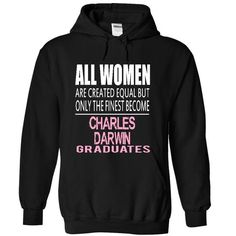 I GRADUATES AT CHARLES DARWIN - #gift wrapping #gift for him. LIMITED AVAILABILITY => https://www.sunfrog.com/Funny/I-GRADUATES-AT-CHARLES-DARWIN-6668-Black-4336636-Hoodie.html?68278