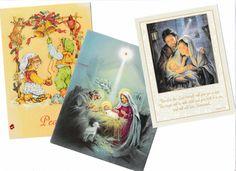 3 Nativity Christmas Cards Greeting for Crafting or Decor AtomicPutz.com