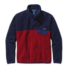 Our Synchilla Snap-T Pullover wrote the book on multifunctional fleece. Made from double-faced 100% polyester fleece (solids, 85% recycled; heathers, 80% recycled; both bluesign approved), this lighte