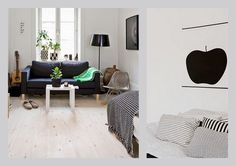 LIVING LIKE LOTTA. Swedish stylist Lotta Agaton's former home