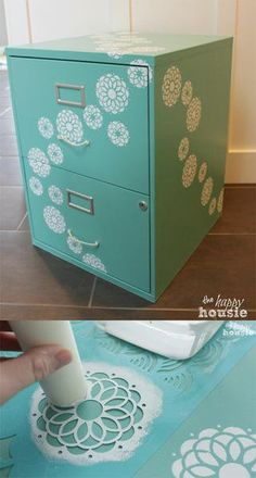 24 Amazing File Cabinet Ideas For Your Classroom Feeling the itch to get crafty? Take an old filing cabinet from your classroom and spruce it up with some of these awesome ideas. Filing Cabinet Organization, Diy File Cabinet, Cabinet Decor, Cabinet Makeover, Classroom Organization, Classroom Decor, Cabinet Ideas, Filing Cabinets, Storage Cabinets