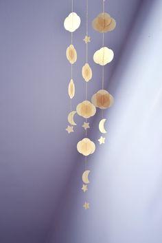 Children's room - Paper garland - Les Pommettes Du Chat