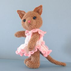 Ravelry: Tabitha, A Toy Cat pattern by Sue Pendleton