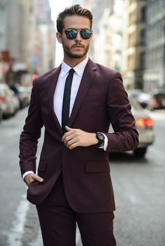11 Best Men's Formal Outfit for Professional Appearance - Man Fashion Rugged Style, Mens Fashion Suits, Mens Suits, Style Brut, Style Costume Homme, Formal Men Outfit, Casual Outfits, Mode Costume, Herren Outfit