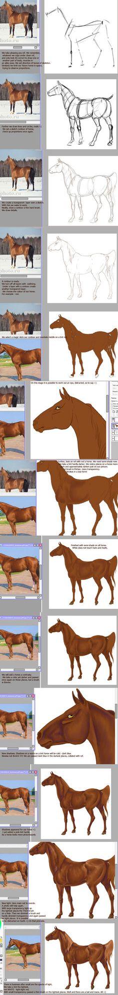 #horse #art on deviantART