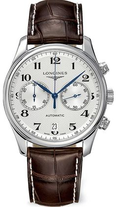 men watches Where to buy  Longines Master Collection Automatic Chronograph Transparent Case Back Men's Watch L26294783