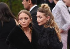 NEW YORK, NY - MAY 04: Mary-Kate Olsen (L) and Ashley Olsen attend the 'China: Through The Looking G... - Mike Coppola via Getty Images