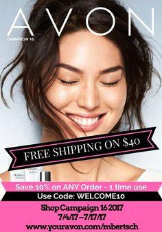 New Avon Catalog Online - July/August 2017 - Brochure Sales