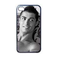 Cristiano Ronaldo Custom Iphone 4 (4S) Case Black Real Madrid Player Star New