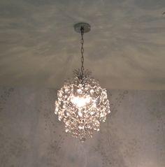 Bathroom Mini Chandeliers round crystal chandelier | chandeliers, rounding and crystals
