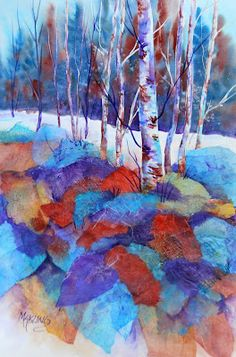 Creative Painting by Martha Kisling: Watercolor Collage Workshop - Paper Everywhere