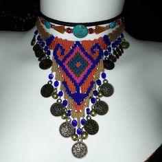 El yapimi dokuma kolye🌾60 tl🍀detayli bilgi ve sipariş için DM yada whatsaptan ulasabilirsiniz👍05386892462  #takı #tasarım #dogaltaş… Jewellery Display, Silver Bracelets, Most Beautiful Pictures, Friendship Bracelets, Crochet Necklace, Weaving, Elsa, Stone, Handmade