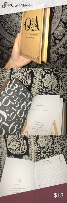 NEW Q&A A Day Book BRAND NEW Q&A A DAY BOOK // NEVER WRITTEN IN // CUTE LITTLE JOURNAL Other