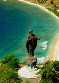 East Timor, Indonesia - Statue of Christ, the largest such statue in the world!