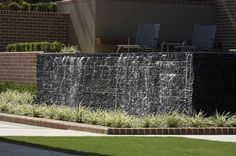 Water wall // Rolling Stone Landscapes