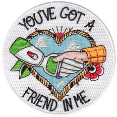Image of Toy Story you've got a friend in me Fan Art patch by la barbuda