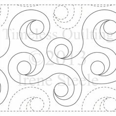 "Spiral Rings - Paper - 10"" W4-T-SPR"