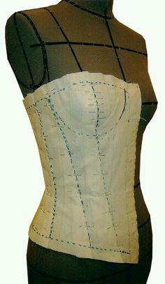 Patron de corset