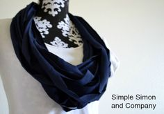 Simple Simon & Company: The Sonjia Scarf Tutorial