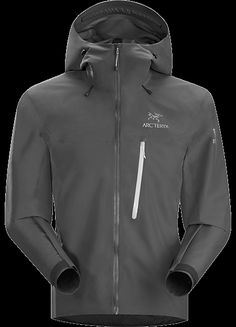 Alpha FL Jacket Men's Fast and Light. Arc'teryx lightest GORE-TEX® Pro jacket for climbers and alpinists. Designed with minimal features to maximize breathability and minimize weight for fast and light adventures. Built using GORE-TEX® Pro 3L with supple yet durable N40p-X face fabric. Alpha Series: Climbing and alpine focused systems   FL: Fast and Light.