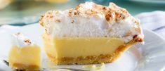 Sitruunapiirakka 3 tavalla – katso Kotilieden hittiohjeet - Kotiliesi.fi Cheesecake, Lemon Meringue Pie, Snack, Pudding, Baking, Sweet, Desserts, Food, Daddy