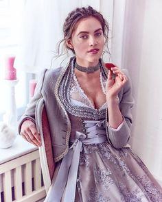 silk & pearls / traditional costumes & designer dnddl Source by High Slit Dress, Dirndl Dress, Maid Dress, Feminine Dress, Traditional Outfits, Desi, Dresses, Women, Oktoberfest Costume