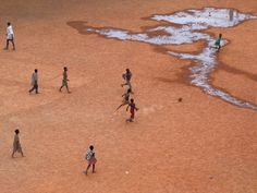 "Burkina Faso | ""Football in Ouga"" by Dennis Courtier"