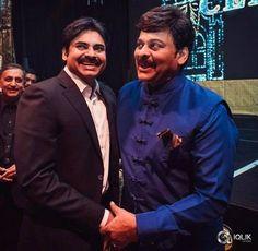 Powerstar #PawanKalyan & Megastar #Chiranjeevi at #Mega60.