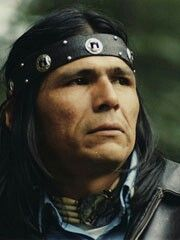 Dennis Banks, one of the leaders of the American Indian Movement