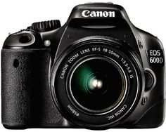Canon EOS 600D (European EOS Rebel T3i) 18 MP CMOS Digital SLR Camera and DIGIC 4 Imaging with EF-S 18-55mm f/3.5-5.6 IS Lens -      FEATURED  Canon EOS 600D (European EOS Rebel T3i) 18 MP CMOS Digital SLR Camera and DIGIC 4 Imaging with EF-S 18-55mm f/3.5-5.6 IS Lens   18-megapixel CMOS sensor  *  Scene Intelligent Auto mode Full-HD EOS Movie   *  On-screen Feature Guide Up to 3.7fps continuous shooting  *  Wide-area...