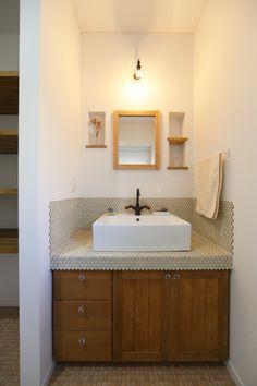 Basin Design, Bathroom Furniture, Bathroom Sinks, Double Vanity, Countertops, Sweet Home, House Design, Modern, Home Decor