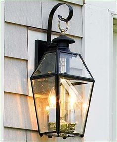 Georgian outdoor wall light 2 light wall lights - Georgian style exterior lighting ...