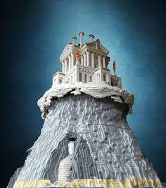 Mount Olympus in Lego by El Barto!, via Flickr