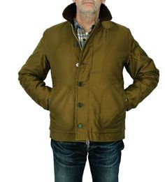 IHM-03 - Whipcord N1 Deck Jacket (Black & Olive)