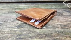 Leather Wallet, Personalised Leather Wallet,Handmade Wallet by Marcyniuk on Etsy