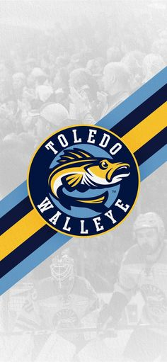 Toledo Walleye themed wallpaper. #WalleyeWallpaperWednesday Toledo Walleye, Cavaliers Logo, Chicago Cubs Logo, Team Logo, Logos, Wallpaper, Logo, Wallpapers