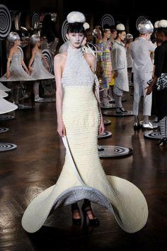 thom browne crochet dress