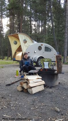 Vistabule Teardrop Trailer and the reader