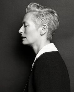 Tilda Swinton by Hong Jang Hyun  for Vogue Korea August 2015