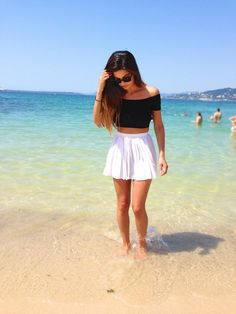 For the first time #summer #look  http://neginmirsalehi.com/lifestyle/2013-for-the-first-time